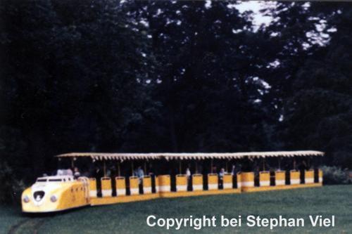 Zug gelb Serie 2 Baujahr 1960