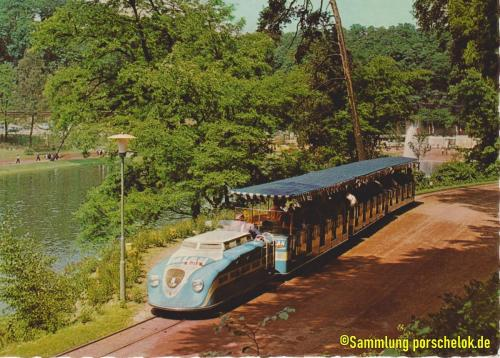 Zug hellblau Serie 2 Baujahr 1960